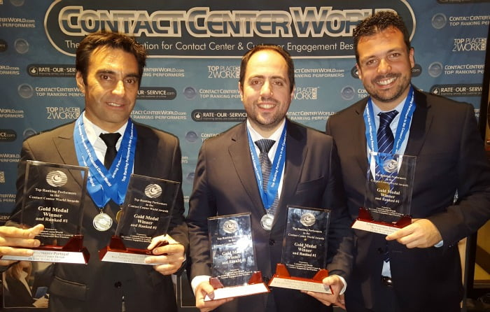 Teleperformance Portugal Contact Center World Awards