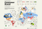 Most Popular Consumer Brand in Every Country World  e
